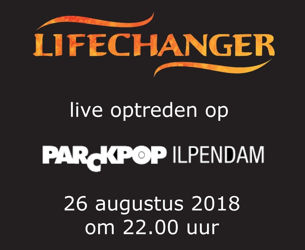Lifechanger live at Parckpop 2018